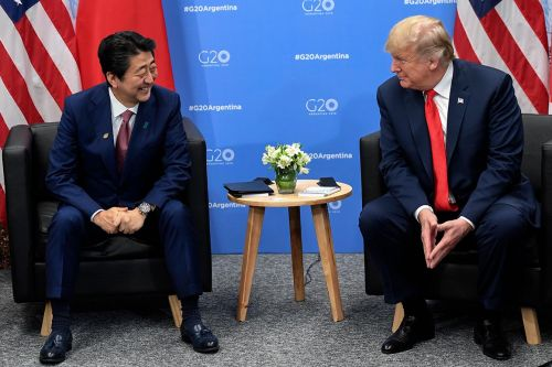 Trump says Japanese prime minister nominated him for Nobel Peace Prize