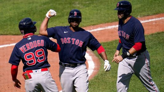 Red Sox slug 6 homers against Orioles to extend winning streak to 6 games