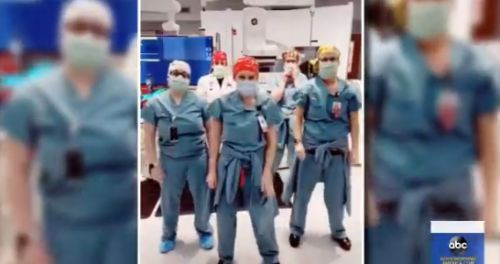 Group of Missouri nurses busting out their dance moves sparks viral video