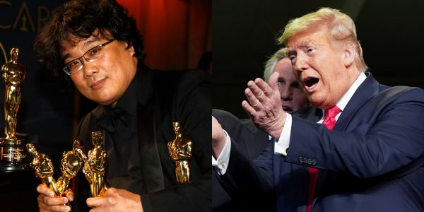 'What the hell is that?': Trump mocks 'Parasite' winning Best Picture at the Oscars because it's 'some movie from South Korea'