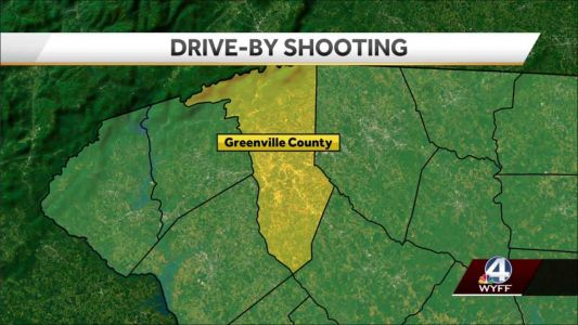 Woman shot in drive-by shooting in Greenville County, deputies say