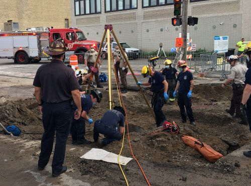 Construction Worker Rescued After Falling Into Sewer Sleeve In Downtown Minneapolis