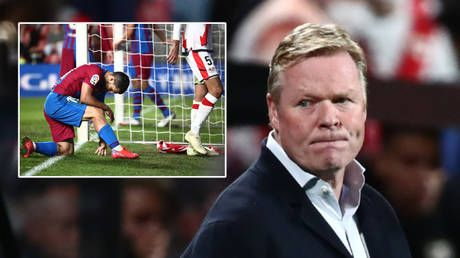 Gone-ald Koeman: Barcelona sack boss less than 2 months after he claimed he had saved club. and fans want Xavi to replace him