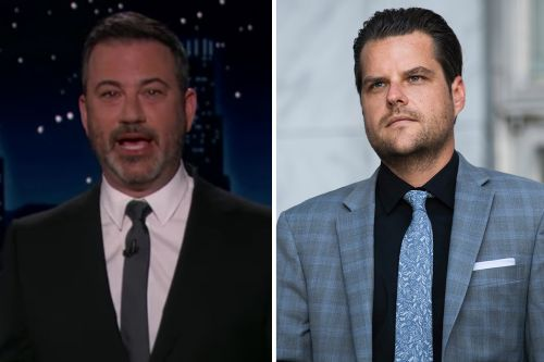 "Jimmy Kimmel Sarcastically Slams Matt Gaetz as ""Criminal Mastermind"""