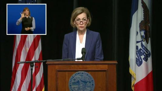 WATCH: Reynolds hosts news conference on COVID-19 in Iowa