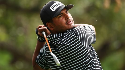 Zozo Championship: Sebastian Munoz leads; Tiger Woods stumbles with opening 76