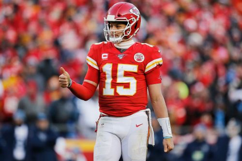 Patrick Mahomes moves a historically close Super Bowl line