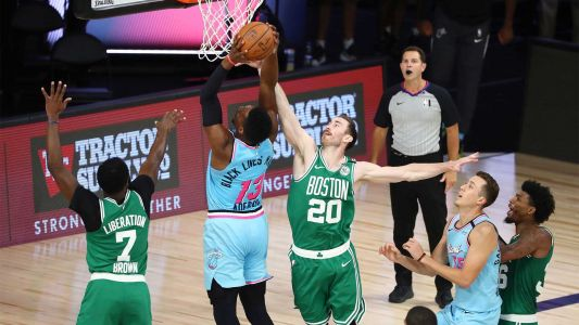 Celtics lose grip on East's No. 3 seed in loss to Miami Heat