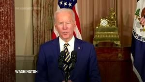 Biden announces the end of U.S. support to Saudi war in Yemen and a tougher line on Russia and China