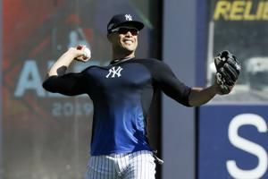 Stanton still out, Hicks moved up to 3rd in Yanks' order