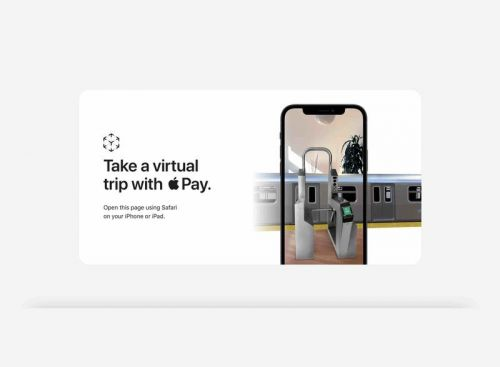Apple launches AR experience to highlight Express Transit with Apple Pay