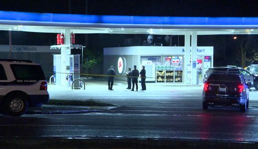 One person shot at Attleboro gas station