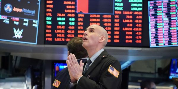 Dow craters 943 points in worst day since June as virus spike spurs new lockdowns