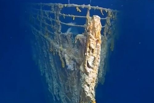 First images of Titanic in 14 years show 'shocking' decay