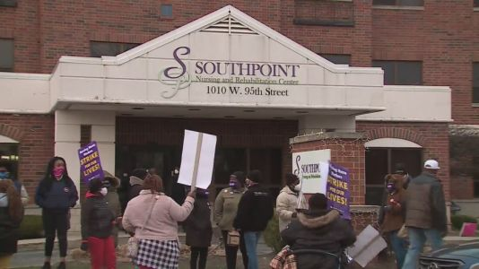 Strike of hundreds of nursing home workers enters second week