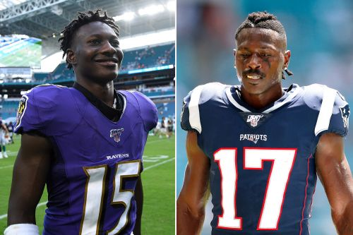 Marquise Brown is the unnamed player in Antonio Brown's rape lawsuit