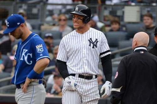 Aaron Judge leaves game as Yankees injury woes may get worse