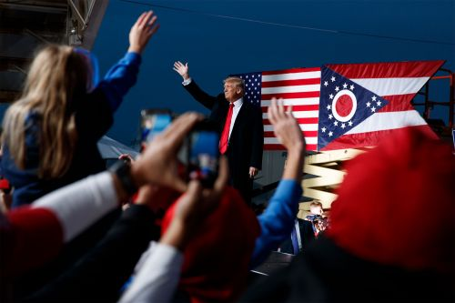 Trump announces first post-White House rally set for June 26 in Ohio