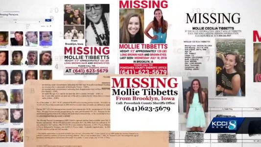REPORT: Missing 20-year-old Mollie Tibbetts found dead