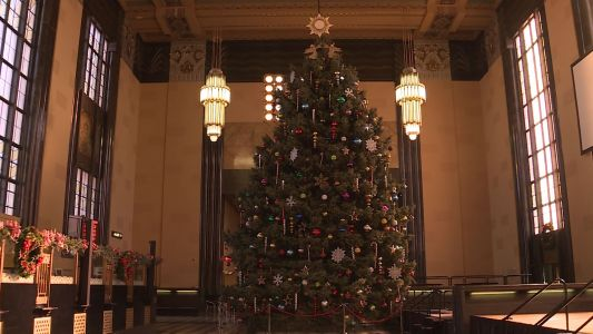 Preparations underway for Christmas at Union Station