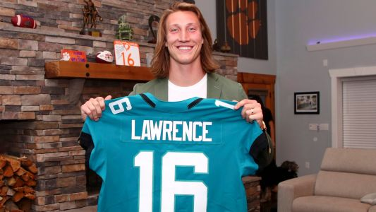 Trevor Lawrence looks good in teal as Jacksonville unveils first shots of new QB in Jaguars uniform