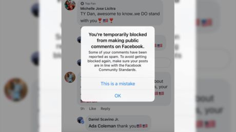 Facebook apologizes after mistaking Trump's social media director for bot