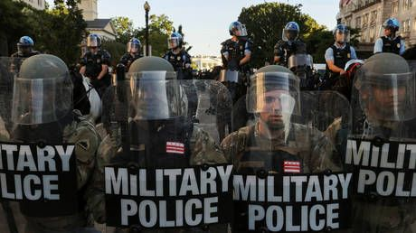 Active duty US military troops RETURNING to home bases after being deployed in DC over riots - report