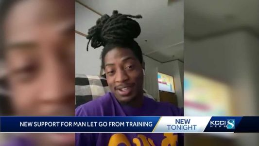 Man dropped from trucking school for his hairstyle receives support, job offers