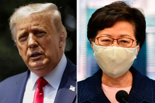 US sanctions leader of Hong Kong, other Chinese authorities