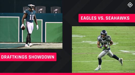 Monday Night Football DraftKings Picks: NFL DFS lineup advice for Week 12 Eagles-Seahawks Showdown tournaments
