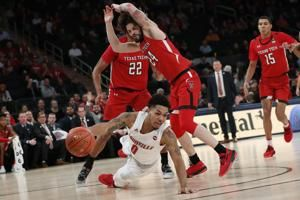 Top-ranked Louisville beaten by Texas Tech 70-57