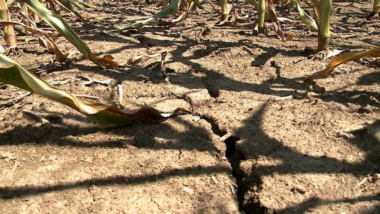 Hot weather drives some areas deeper into drought