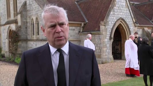 Prince Andrew: The queen is left with a 'huge void' in her life after Prince Philip's death