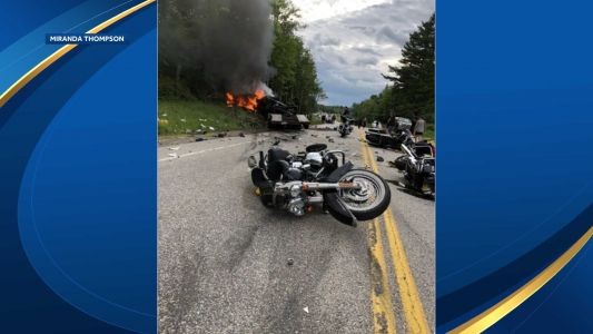 Mass. man charged with negligent homicide in NH crash that killed 7
