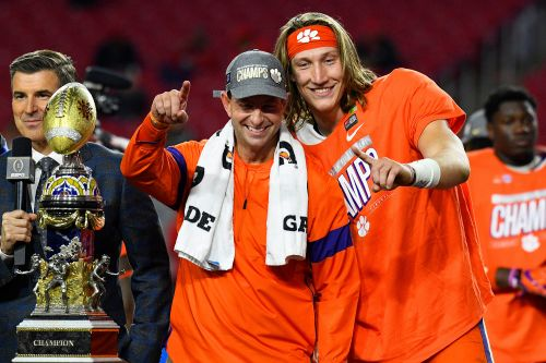 Dabo Swinney: I'd be 'surprised' if Trevor Lawrence didn't enter NFL Draft