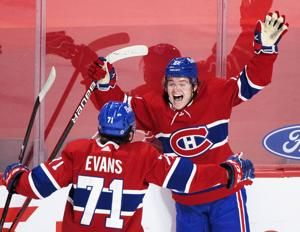 Evans traveling to Vegas with Canadiens for Golden Knights
