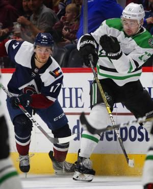 Landeskog, Rantanen lift Avs to 6-4 win over Stars