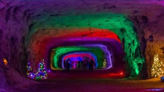 Ohio's free Christmas Cave is the true meaning of the season