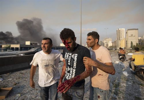 Huge explosions rock Lebanon capital Beirut with widespread damage, injuries