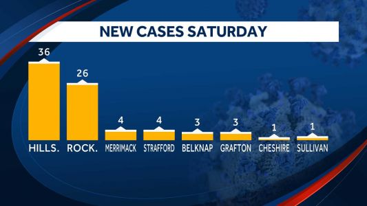 Two more deaths linked to COVID-19 reported in NH Saturday; deaths now total nine