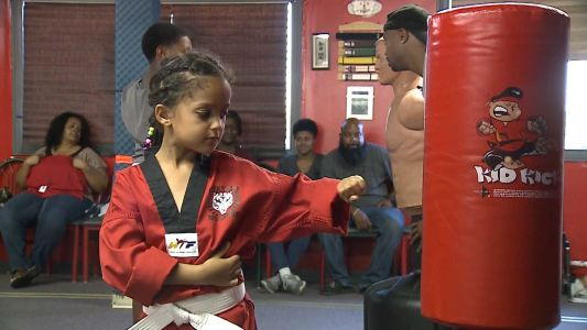 Karate instructor uses martial arts to instill confidence in students