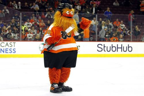 Flyers mascot 'Gritty' engineered to terrify Twitter