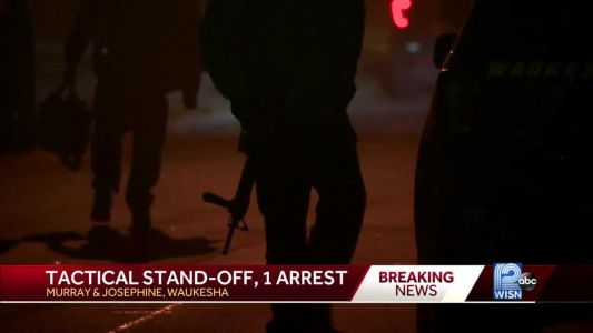Tactical Standoff at Waukesha Home