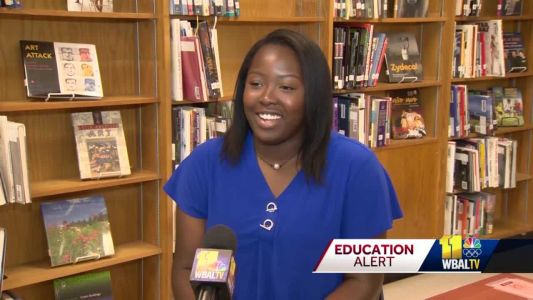 Surprise! Overlea grad is Baltimore County Young Woman of the Year