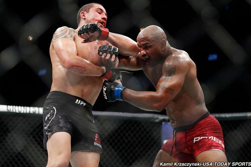 Robert Whittaker focused simply on Jared Cannonier - not title picture - entering UFC 254
