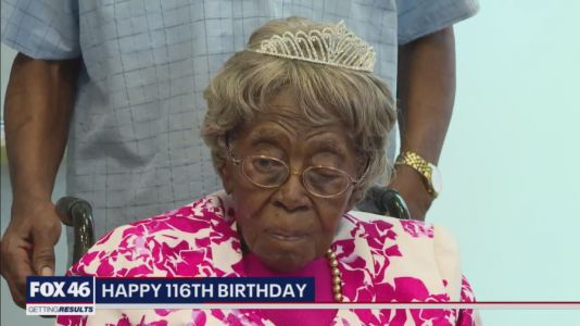 NC woman turned 116 Friday and is the oldest person in the U.S