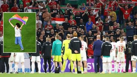 UEFA investigates 'potential discriminatory incidents' at Germany-Hungary Euro 2020 clash after 'anti-LGBT banner & chanting'
