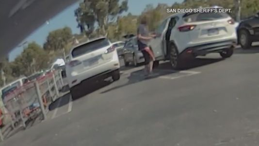 Video released of alleged kidnapping attempt in California Costco parking lot