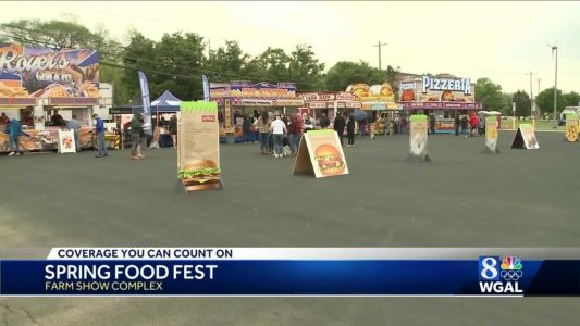 Craving Farm Show food? Check out the Spring Food Fest