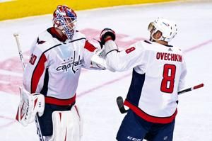Ovechkin scores 2, Capitals beat Flyers 6-3